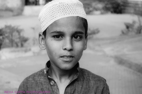 Young muslim boy by Neha Gupta