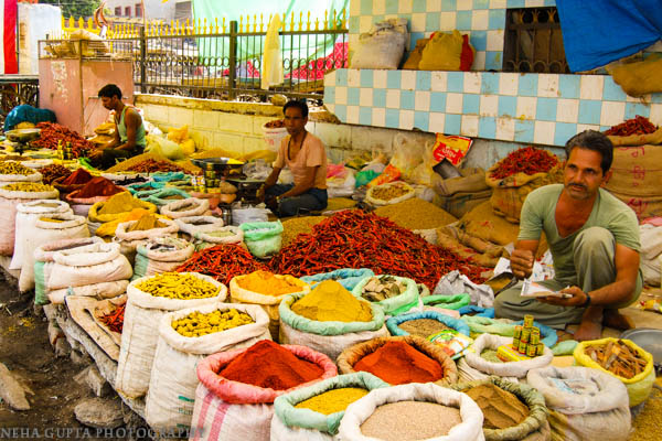 Indian Spice Market by Neha Gupta