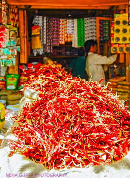 Red chilies by Neha Gupta
