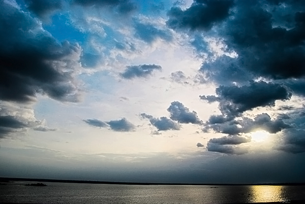 Sunset with cloudscapes - Sunset Photography by Neha Gupta
