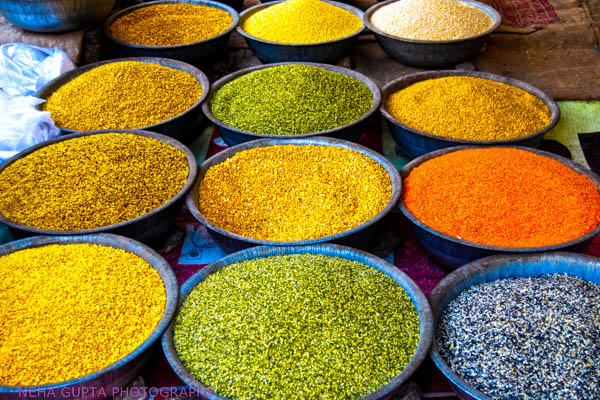 Colors Of Lentils by Neha Gupta