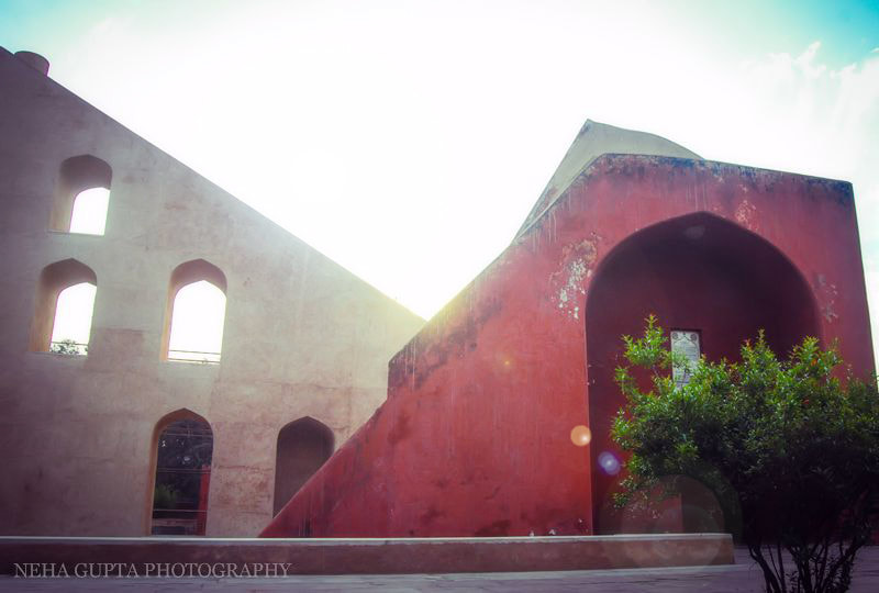 New Delhi's Jantar Mantar astronomical instruments