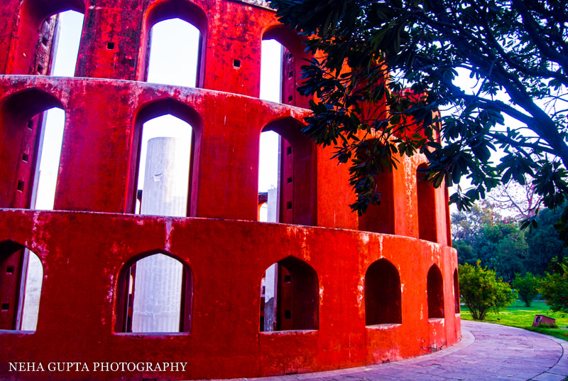 New Delhi's Jantar Mantar perspective