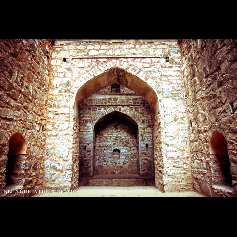 Agrasen Ki Baoli - Architecture Photography by Neha Gupta